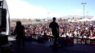 Evergreen Terrace Extreme Thing fest Vegas 2011 - Dogfight