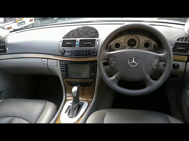 Mercedes Benz E Class E200 2003 Video