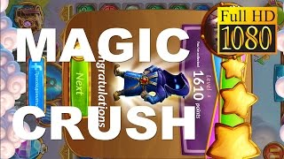 Magic Crush: Match 3 Gems Game Review 1080P Official Serious Cake Puzzle 2016