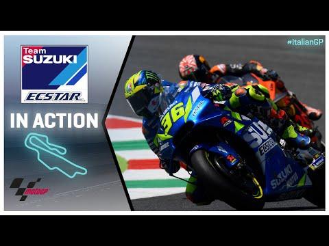 Suzuki in action: Gran Premio d'Italia Oakley