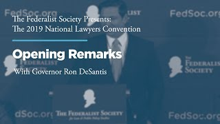 Click to play: Opening Remarks with Governor Ron DeSantis