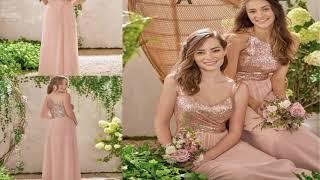 Amazing Ivory Wedding Dress With Rose Gold