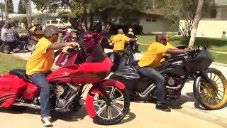 США Флорида/Что делают байкеры во дворе/ Bike Week 2016 exhaust/ Звук выхлопа