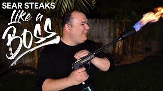 Sear STEAKS Like A BOSS!!! New Sous Vide TORCH!