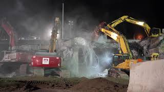 Demolition of the Trafalgar Road and 401 Overpass Bridge
