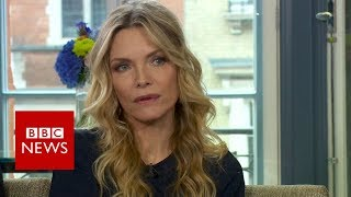Michelle Pfeiffer On Harvey Weinstein - BBC News