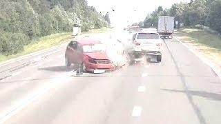 Жесткие аварии Июнь 2016 четвёртая неделя