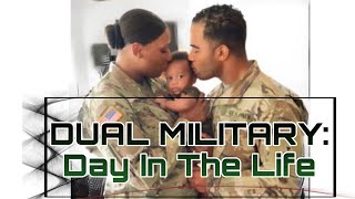 Day In THE LIFE Of An ARMY MARRIED COUPLE!