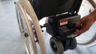 Instalación motor V DRIVE Vermeiren Silla de Ruedas