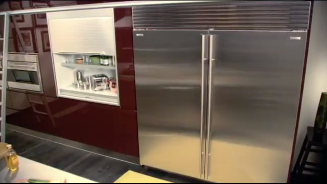 Sub-Zero Classic (formerly Built-In) Refrigeration - Dual Wide Grille