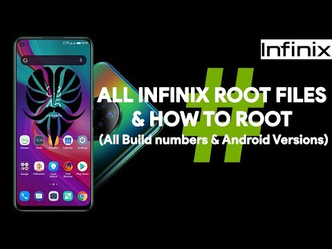 All Infinix Root Files & How To Root - [romshillzz]