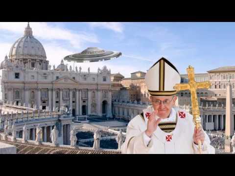 Папа римский встречался с гуманоидами: Шокирующая правда от служителя Ватикана