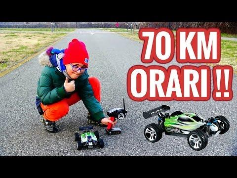 AUTO TELECOMANDATA A 70 Km ORARI - BRAVE PRO - Leo Toys