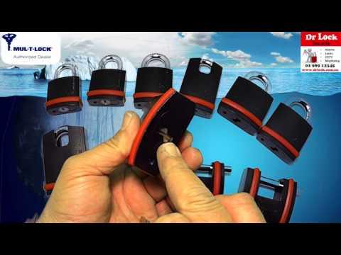 Mul-t-lock padlocks