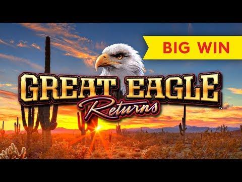 Great Eagle Returns Slot - BIG WIN BONUS!