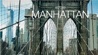 4k iPhone7 plus Short Film | DJI Osmo Mobile - Filmic Pro | Across Manhattan