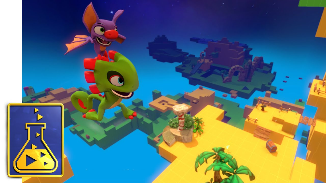Yooka-Laylee Is Coming Along Nicely