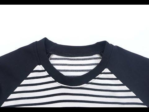 DIY Cómo coser un cuello a una camiseta