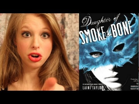 DAUGHTER OF SMOKE AND BONE BY LAINI TAYLOR: booktalk with XTINEMAY
