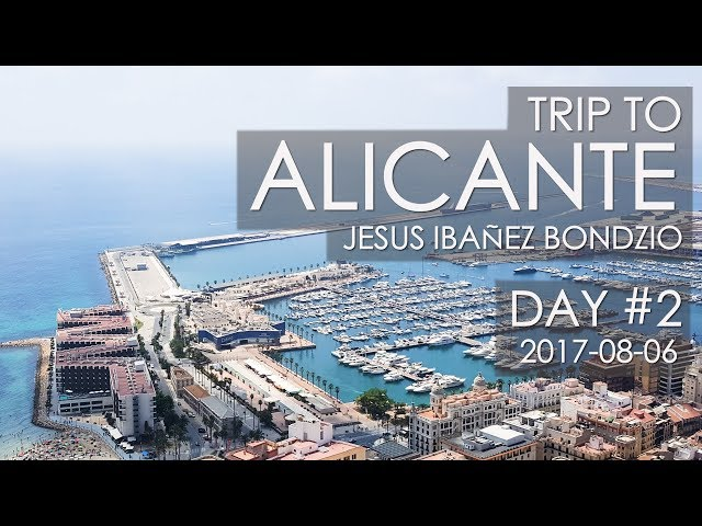 Alicante Spain, Trip Day #2 |  Barrio Santa Cruz & L
