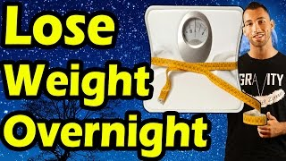 How to Lose Weight Overnight FAST in 24 Hours ➥ Can You Lose 10 Pounds Tomorrow? (Quick weight loss)
