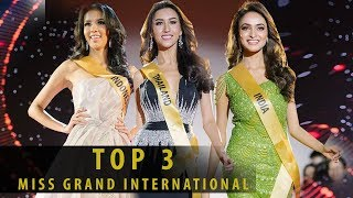 Top 3 Contestant Miss Grand International 2017