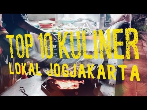 Video Where to Eat in YOGYAKARTA MYFUNFOODIARY UpSideDown World Yogya - KULINER Jogja