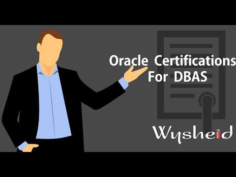 Oracle certification paths for dbas: A Complete Walk Through ...