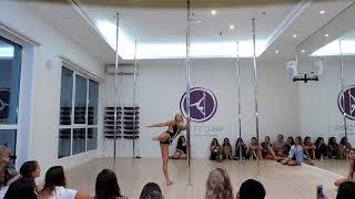 Whitney Houston I Will Always Love You - pole dance performance by Vlada