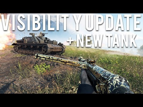 Battlefield 5 Visibility Update and NEW Tank