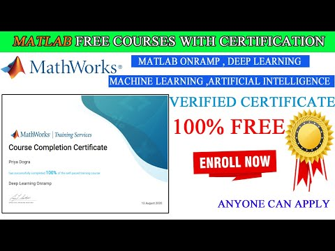 Deep Learning MATLAB and Simulink Training Free Course with ...