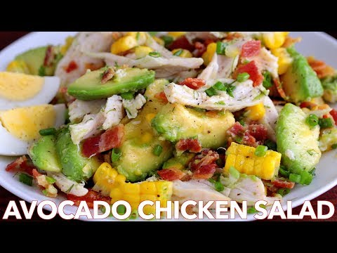 Salads: Tasty Avocado Chicken Salad Recipe
