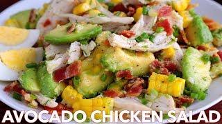 Salads: Tasty Avocado Chicken Salad Recipe