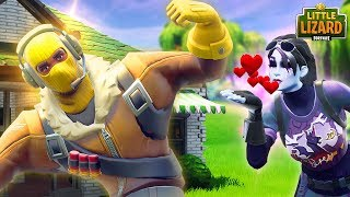 RAPTOR FALLS FOR EVIL LITTLE KELLY!!! - *SEASON 6* Fortnite Short Films