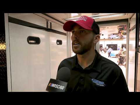 GarageCam: Ross Chastain searching for Turn 4 at Pocono