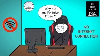 What it feels like to Lose Internet while Playing Fortnite