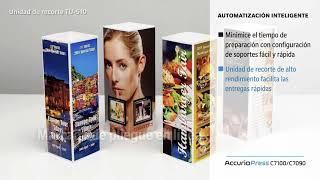 AccurioPress C7100 - Haga una potente impresión