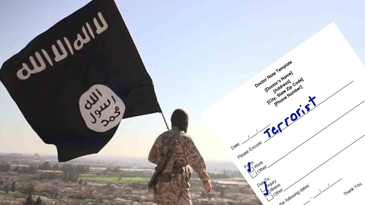 Report: ISIS Fighters Seeking Fake Doctors' Notes To Get Out of Work thumbnail