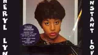 Cheryl Lynn - Instant Love 1982