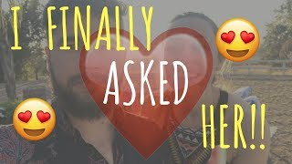 I FINALLY ASKED HER!!