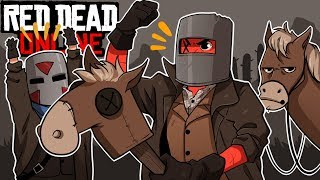 OLD SCHOOL IRON MEN! | Red Dead Online (w/ H2O Delirious)