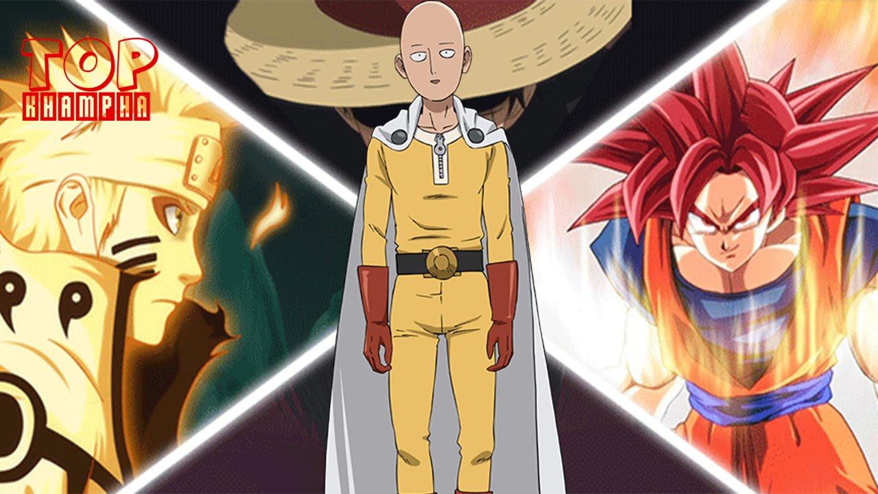 Top 10 nhân vật có khả năng hạ gục được Saitama