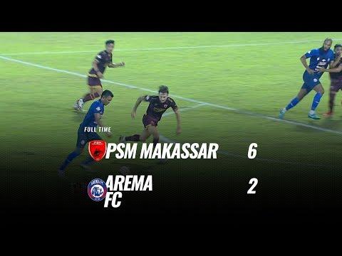 [Pekan Tunda] Cuplikan Pertandingan PSM Makassar vs Arema FC, 16 Oktober 2019
