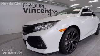 Honda Civic Hatchback LX 2017 youtube video