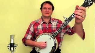 Banjo for beginners - play Cripple Creek!