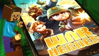 ЛЕГО НУБик vs WW2 Clash Royale: WAR HEROES - LEGO Minecraft Animation - Мультфильмы Видео для Детей