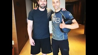HOLLYWOOD in home 30 Minute boxing workout. TRAIN LIKE A CELEBRITY by NateBowerFitness