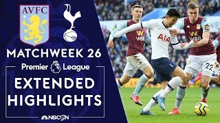 Aston Villa v. Tottenham | PREMIER LEAGUE HIGHLIGHTS | 2/16/2020 | NBC Sports