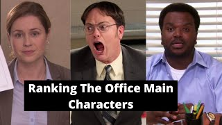 Ranking the Main Characters from The Office-- part 2