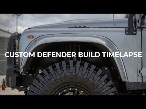 Custom Defender Build Timelapse | E.C.D. Automotive Design